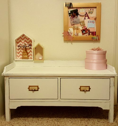 Mini Pottery Barn Bench For My Daughter Shanty 2 Chic