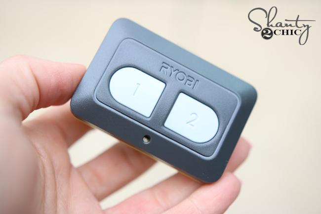 Ryobi Garage Door Opener Remote