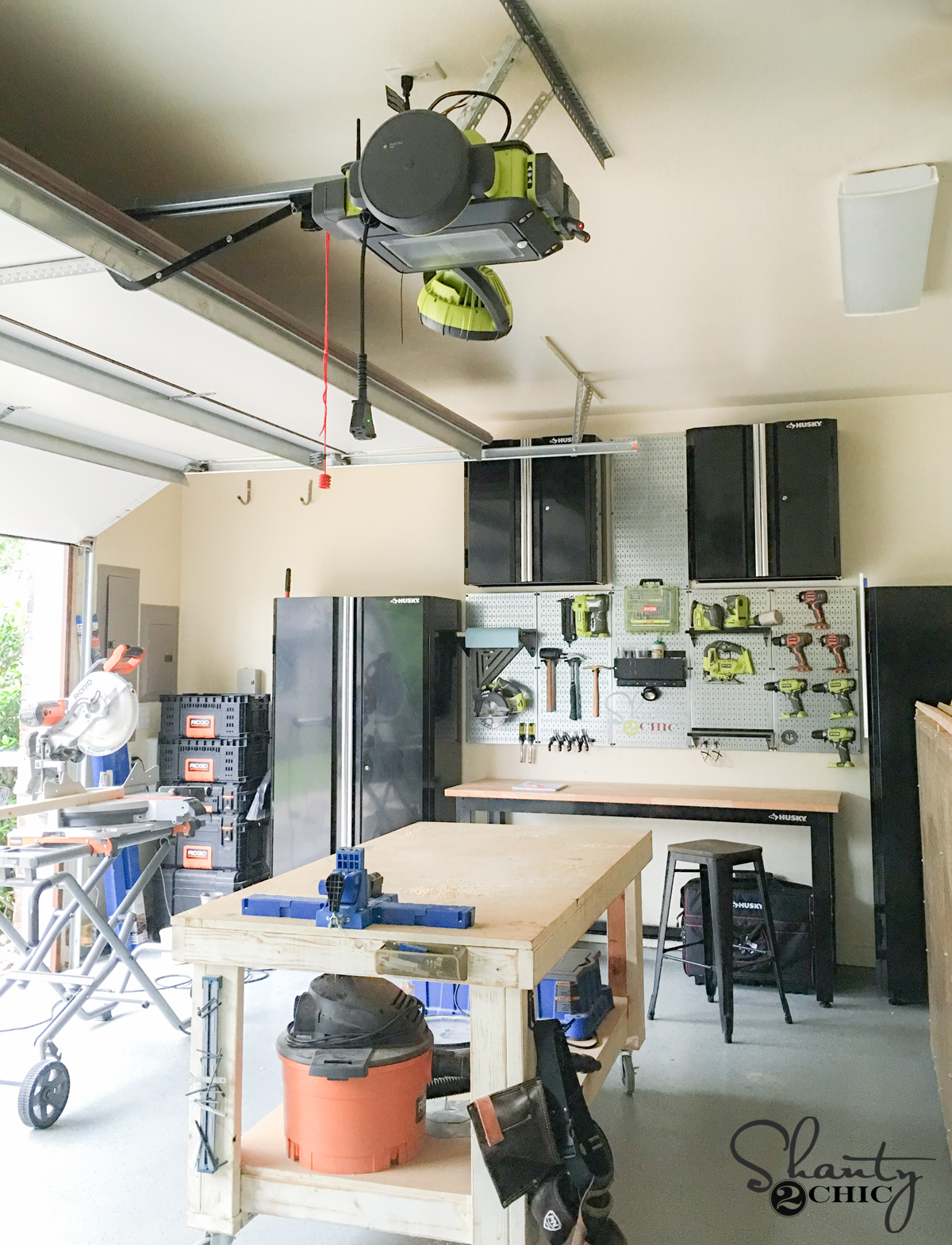 ryobi garage door opener giveaway shanty 2 chic ryobi garage door opener review