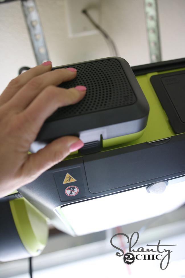 Ryobi Garage Door Opener Speaker Module