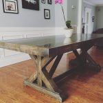 Fancy X Farm table
