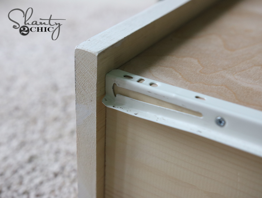 line up drawer slides