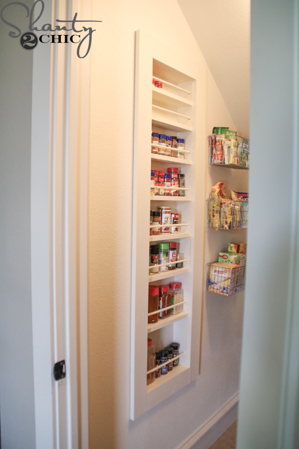 Diy Built In Spice Rack Shanty 2 Chic