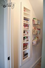 DIY Built in Spice Rack
