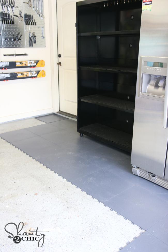 Raised Garage Floor Tiles Portable Garage Floor Tiles Inducedfo