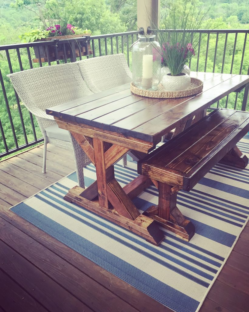 Outdoor Dining Table Shanty 2 Chic
