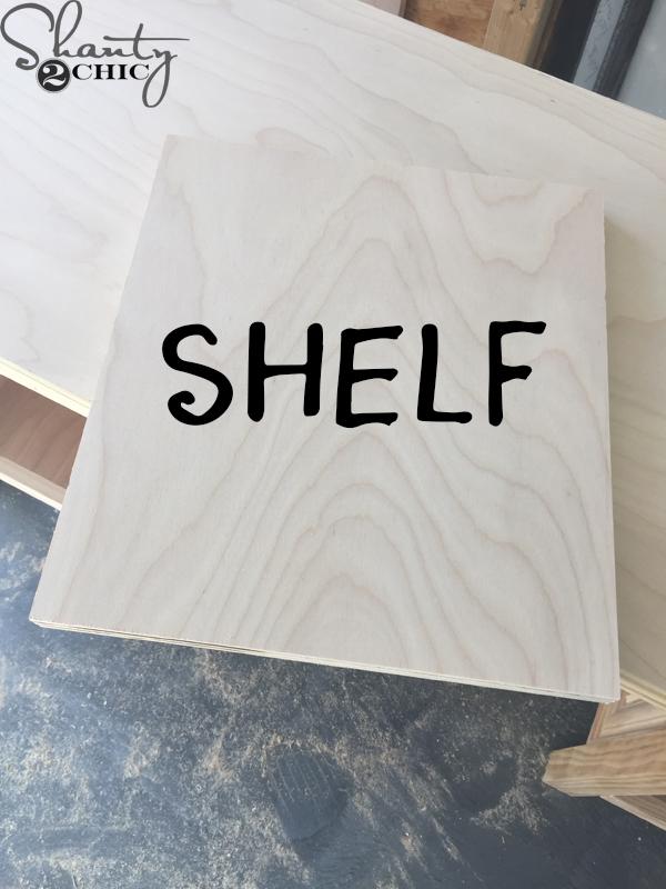 shelf-piece