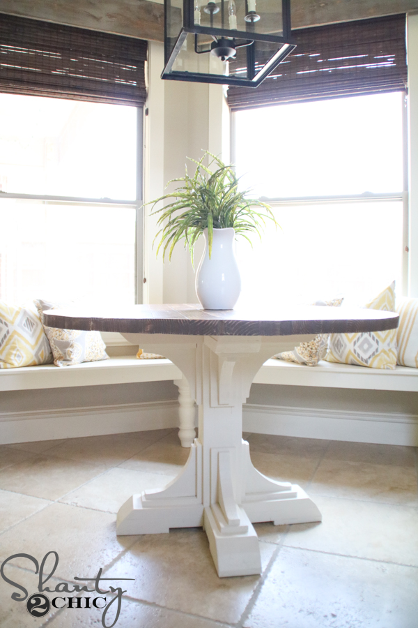Diy Round Table Shanty 2 Chic