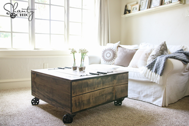 Diy Storage Coffee Table You Video