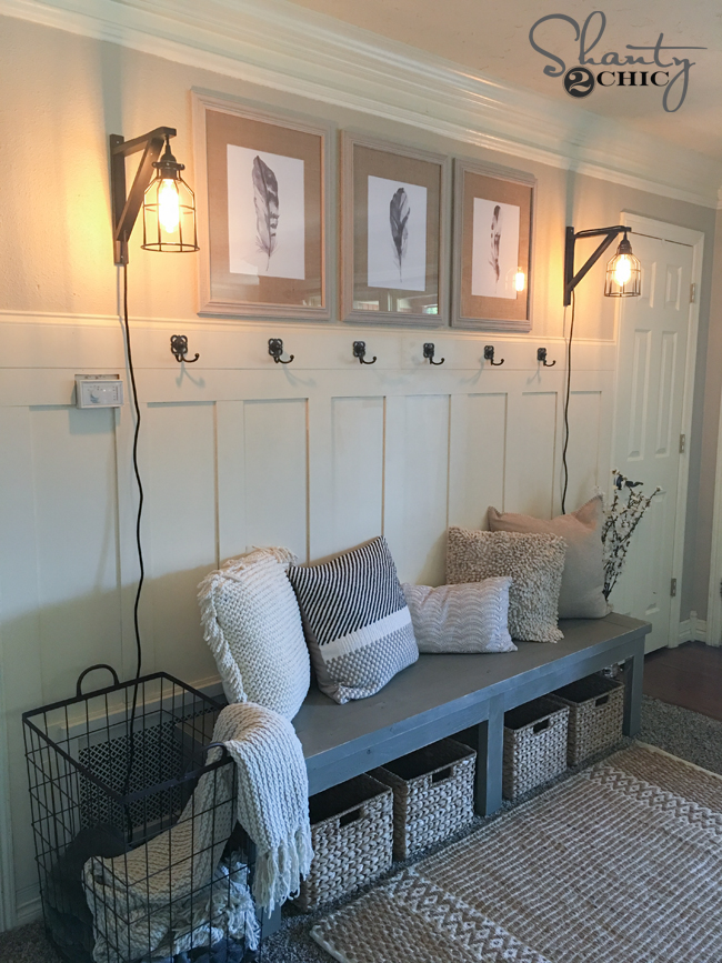 Diy Board And Batten Wall By Shanty2chic