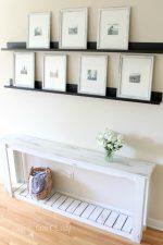 DIY Sofa Table – Farmhouse Style