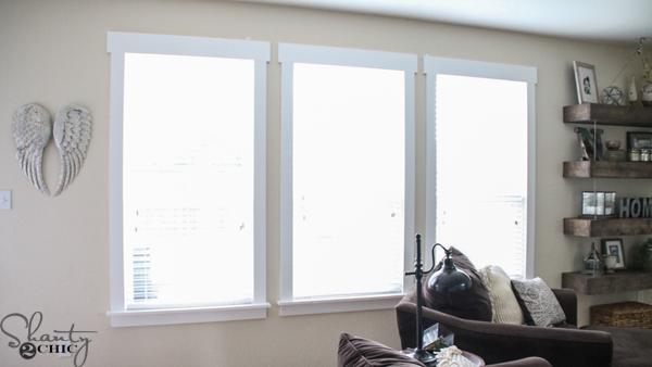 DIY-Window-Trim & DIY Farmhouse Window Trim - Shanty 2 Chic