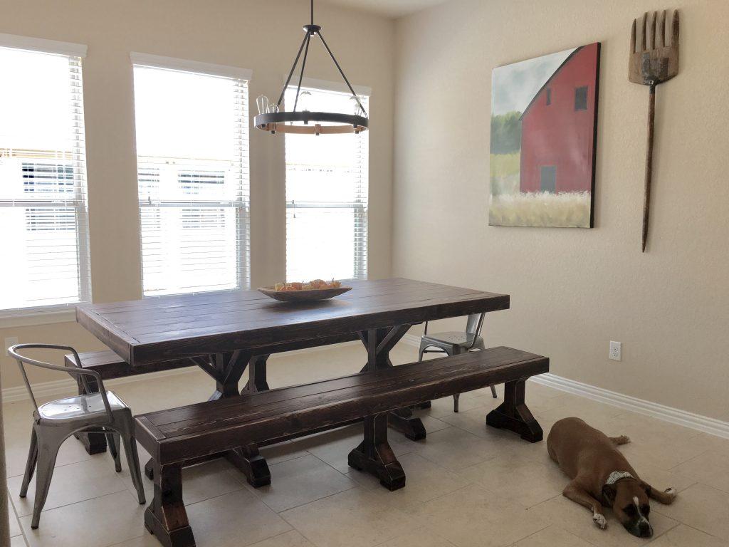 Farmhouse table - Shanty 2 Chic