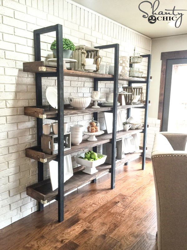 Diy Plate Rack For 95 Shanty 2 Chic
