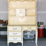 Chalk Painted Hutch