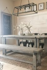 DIY Industrial Farmhouse Table and How-To Video