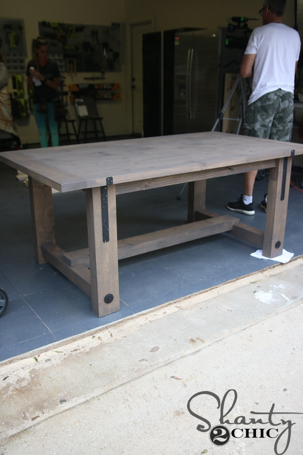 Industrial Table Done