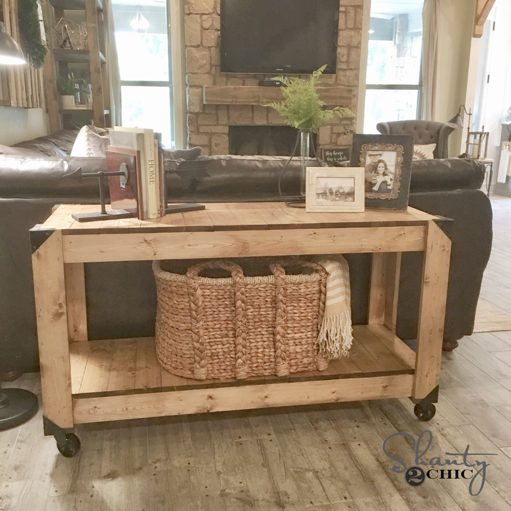 DIY Console Table And YouTube Video!
