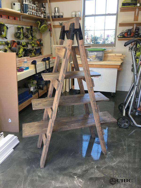 shelf-ladder-with-stain