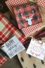FREE Printable Christmas Gift Tags!