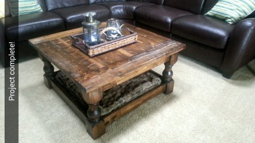square coffee table - shanty 2 chic