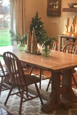 Pottery Barn Table and Bench