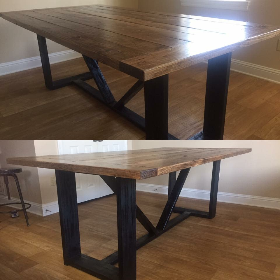 Modern Farmhouse Dining Table Shanty 2 Chic