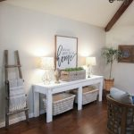 $40 Farmhouse Console Table