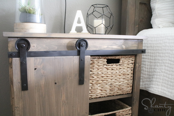 Diy Bypass Barn Door Hardware diy barn door hardware for $20 - shanty 2 chic
