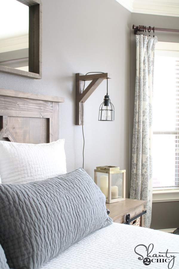 Diy Corbel Sconce Light For 25 Shanty 2 Chic