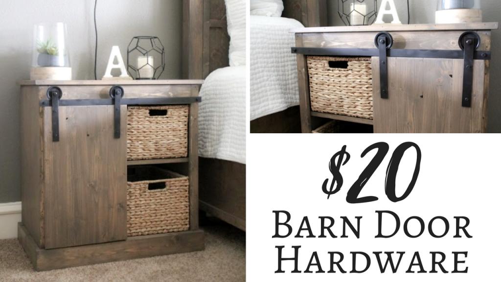 Amazing Barn Door Hardware For Cabinets Minimalist