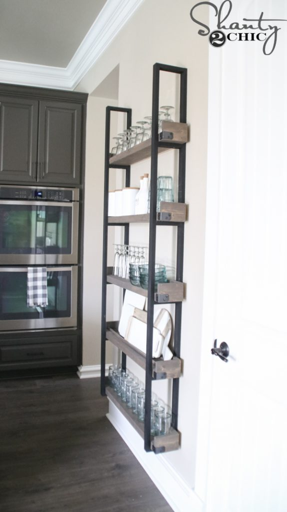 Diy Floating Plate Rack And How To Video Shanty 2 Chic