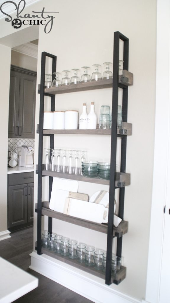 This DIY Floating Plate Rack has to be one of my very favorite projects! It\u0027s an easy build perfect for beginners and it makes such a huge statement for ... & DIY Floating Plate Rack and How-To Video - Shanty 2 Chic