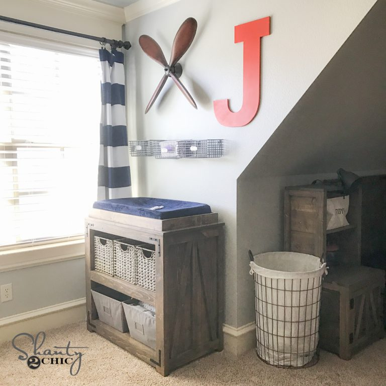 DIY Changing Table