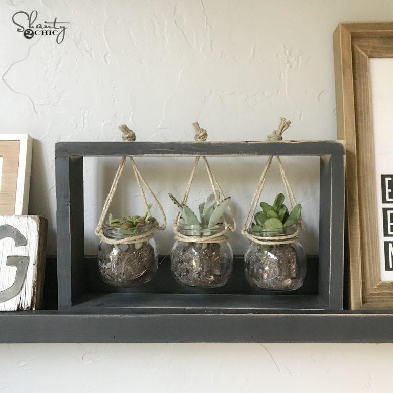 10 Diy Succulent Frame Shanty 2 Chic