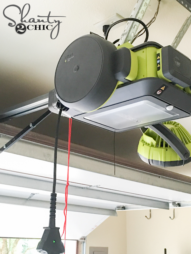 New Ryobi Garage Door Accessories And A Giveaway Shanty