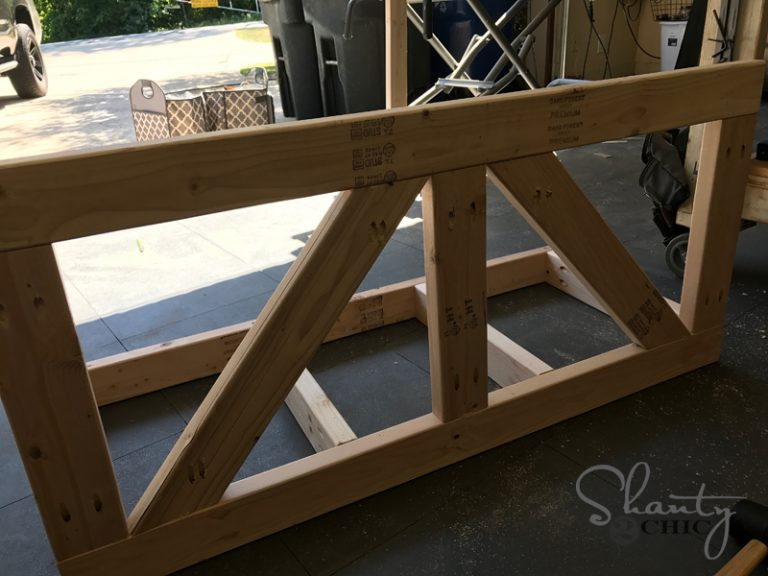 diy farmhouse porch swing
