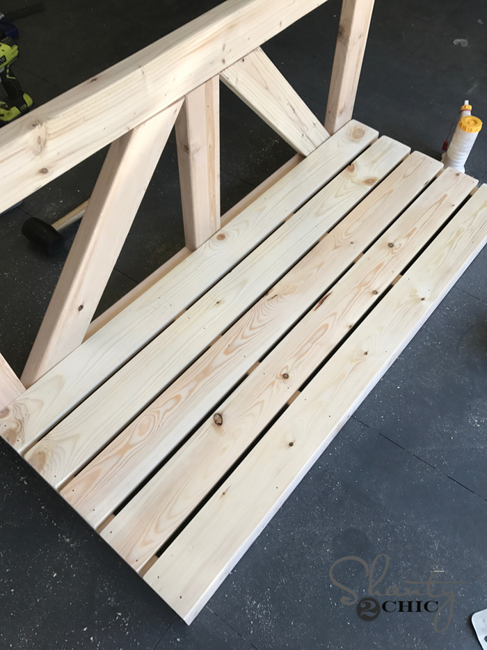 diy porch swing build
