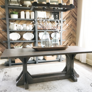DIY-Industrial-Farmhouse-Table