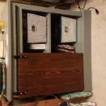 Barn Door Nightstand