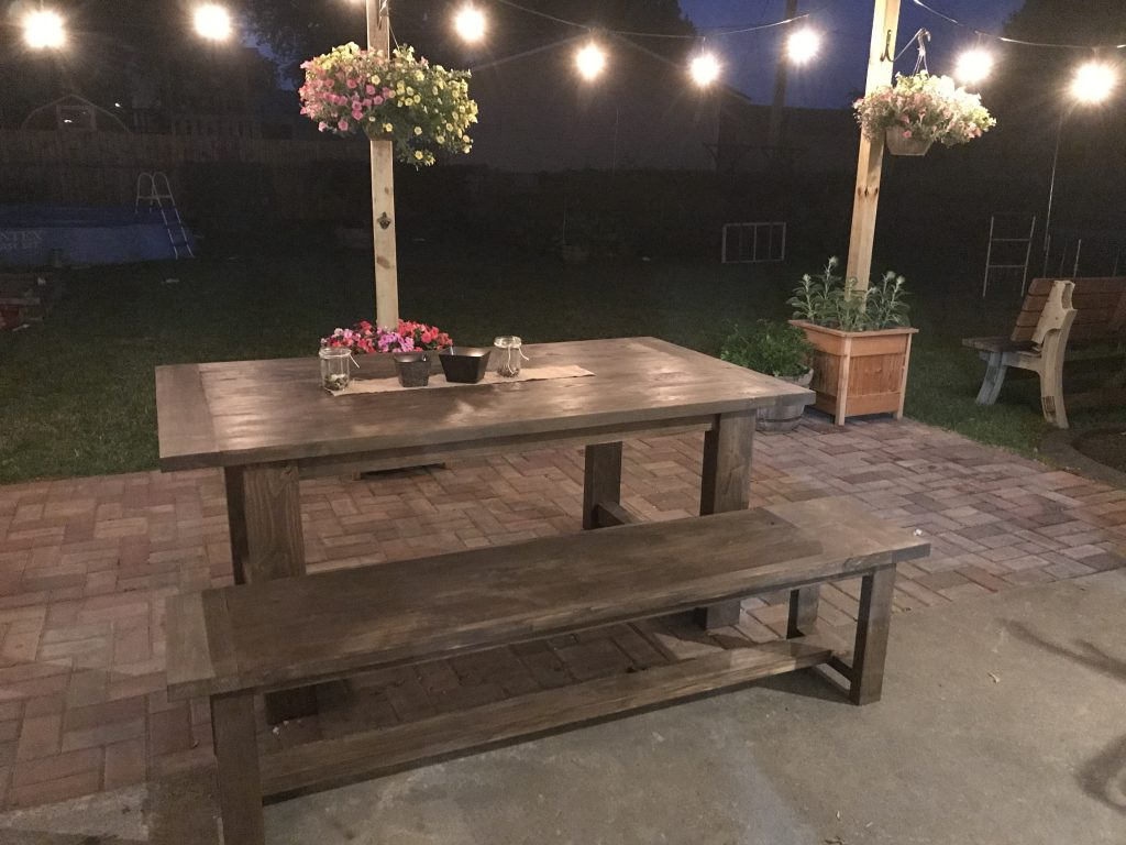 Outdoor Table Shanty 2 Chic