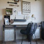 DIY Sliding Barn Door Desk