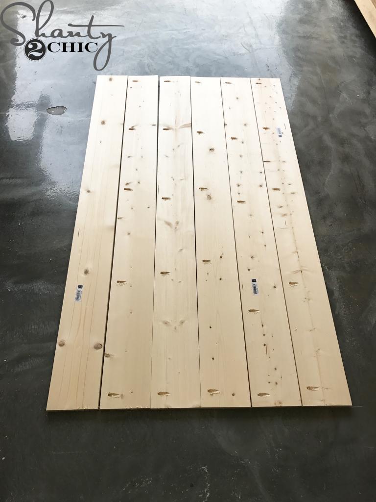 DIY Planked Headboard - An Easy DIY Headboard With Free Plans ...