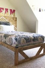 DIY Modern Platform Bed