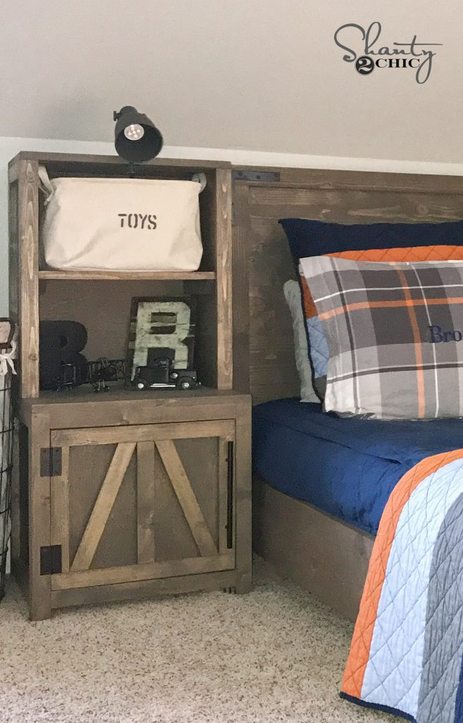 Diy Bookshelf Nightstands Shanty 2 Chic