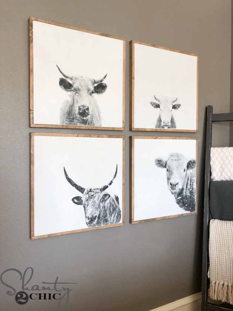 So, Grab Your Favorite Cup Of Coffee And Come Build Some DIY Cow Wall Art!  Just Click HERE Or The Image Below To Watch!