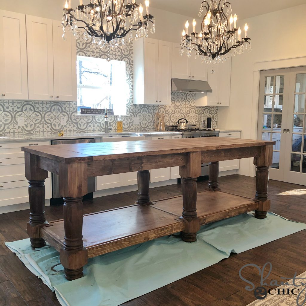 9 Standout Kitchen Islands: Free Plans & How To Video