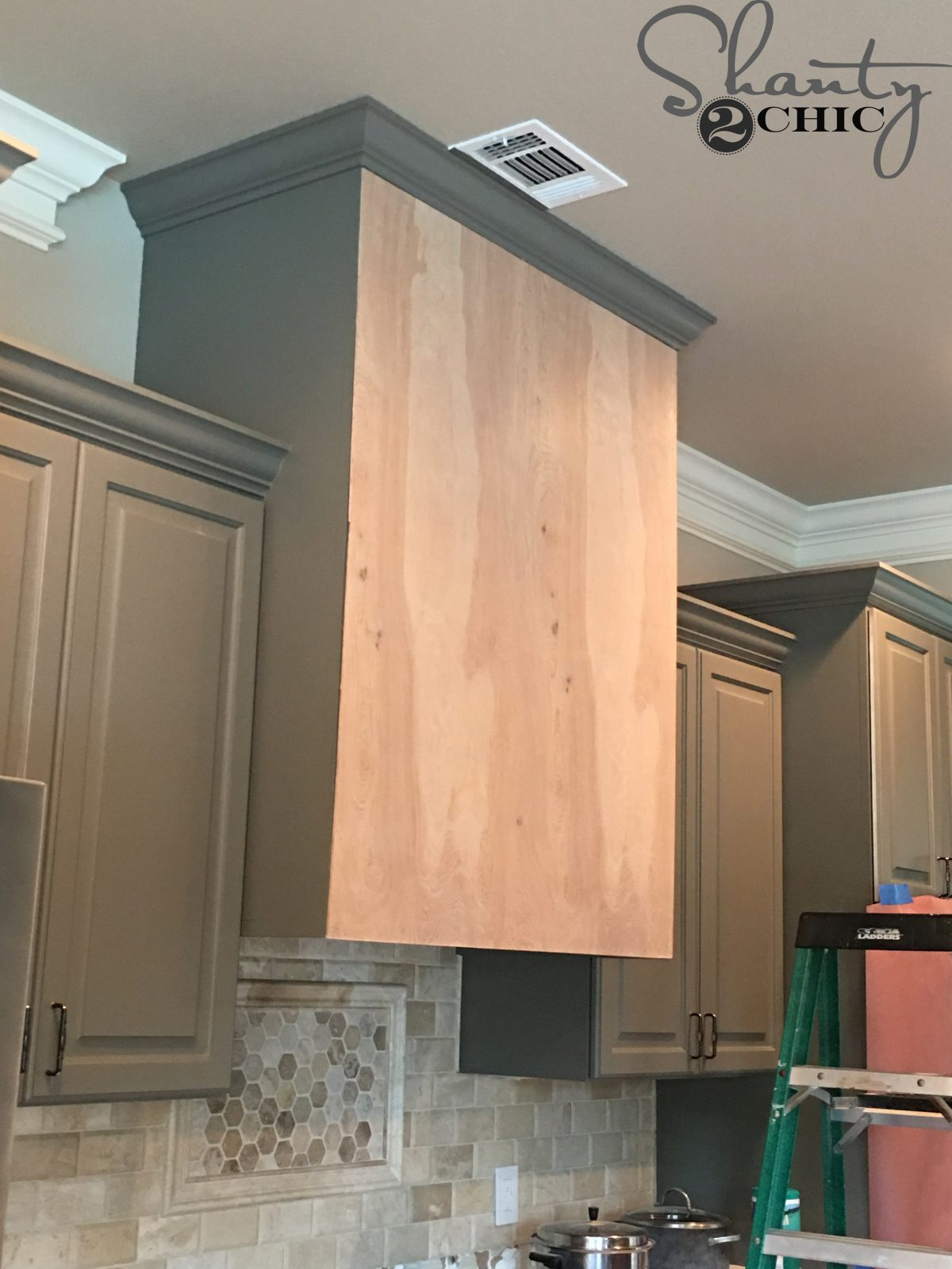 DIY Barn Door Vent Hood - Free Plans