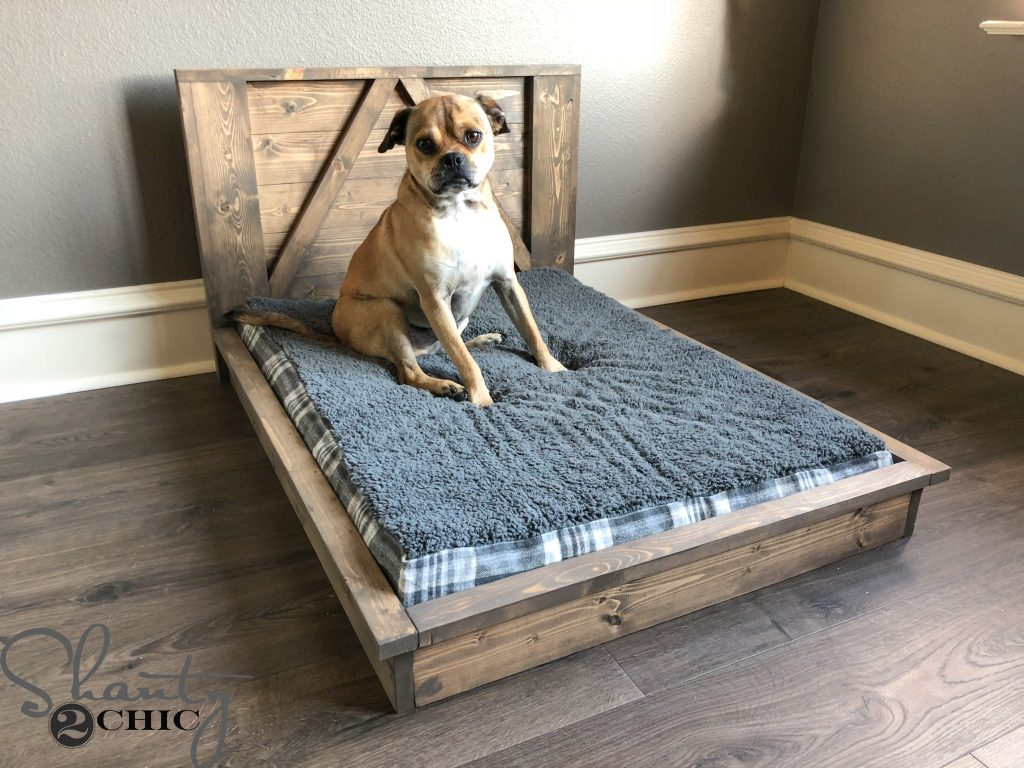 Attraktiv DIY Farmhouse Dog Bed