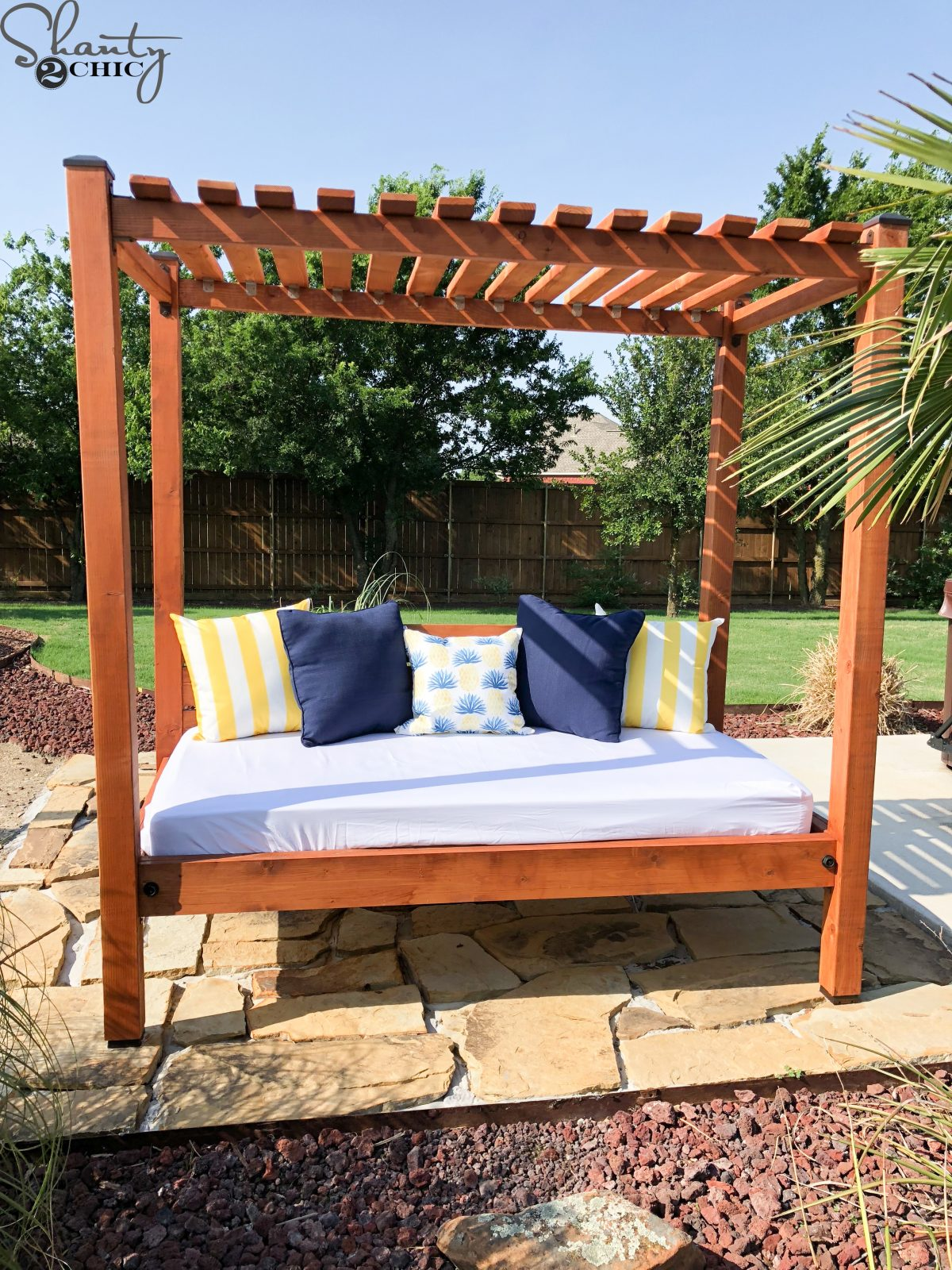 Diy Outdoor Day Bed For About 200 Shanty 2 Chic